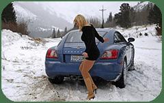 Вождение автомобиля зимой: тонкости и особенности
